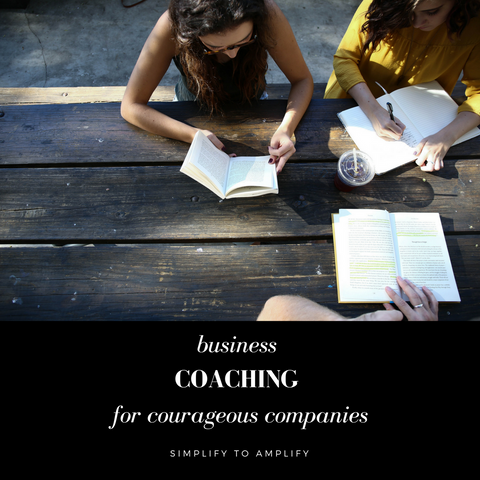 Business Coaching For Courageous Companies