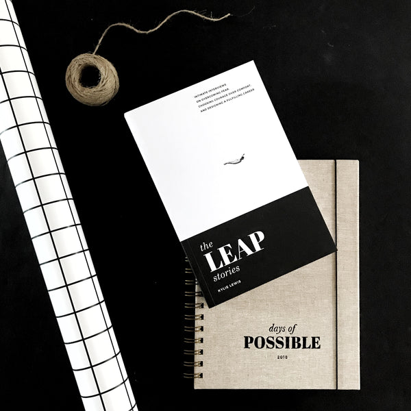2018 Day of Possible Diary Week To A View with The Leap Stories book by Kylie Lewis bundle