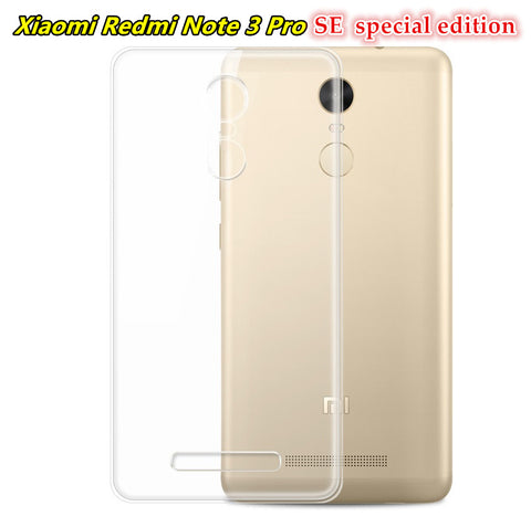 size 40 ebd7d f0b1a 152mm Ultra Silicone TPU phone Cases For Xiaomi Redmi Note 3 Pro Se special  edition 2 3 4 5 Global Version Transparent +glass