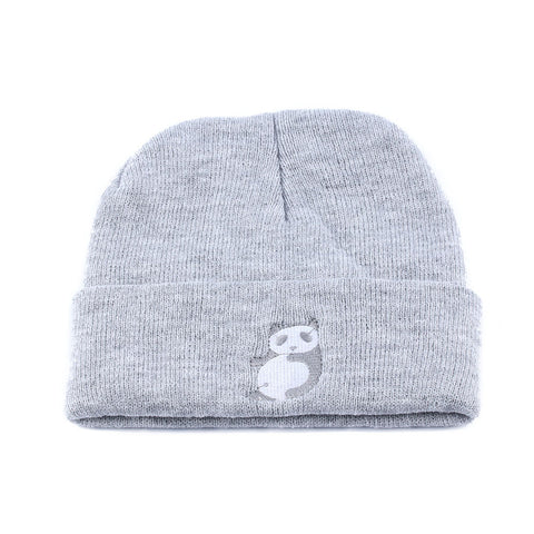 41298141ee8 ... 1PC Hip-Hop Warm Winter Unisex Men Women Lady Panda Wool Beanie Hat  Crochet Knitted ...