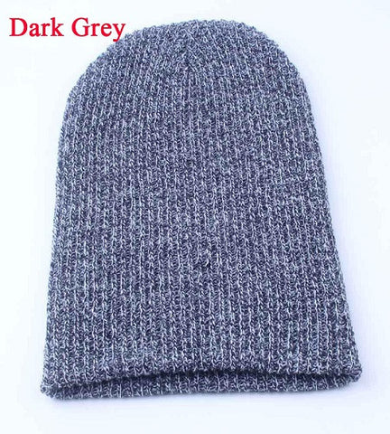 abd071d5d1c ... 1PC Knit Men s Women s Baggy Beanie Oversize Winter Warm Hat Ski Slouchy  Chic Crochet Knitted Cap ...