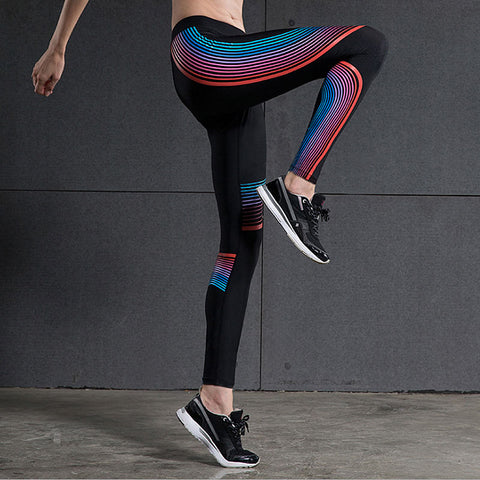 69b76a2ad9 2016 Sport Leggings High Waist Compression Pants Gym Clothes Sexy Running  Yoga Pants Women Sports Leggings