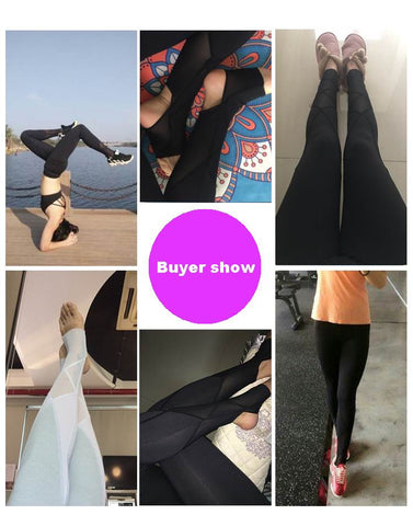 67dd7a0884 ... 2017 Brand New Women Sexy Yoga Pants Dry Fit Sport Pants Fitness Gym  Pants Workout Running ...