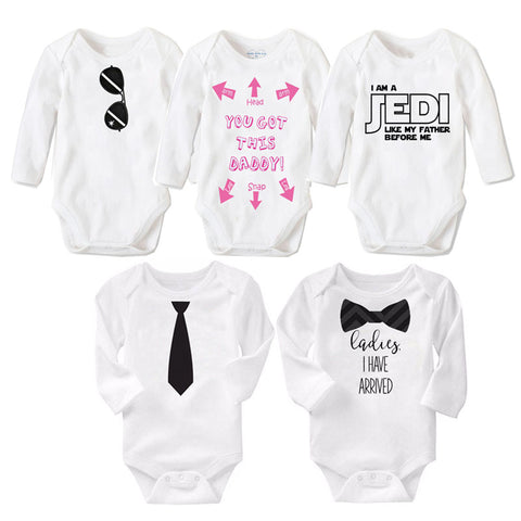 0b889b907455c 2017 Fashion Newborn Baby Clothes Cotton Long Sleeve Baby Rompers Cartoon  style Baby Boy Girl Clothes ...