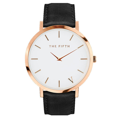 2017 THE FIFTH luxury brand watches men relogio masculino casual classic leather watch waterproof erkek kol saati orologio