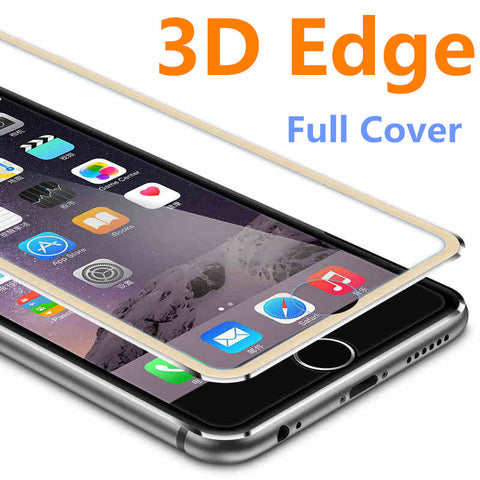 152ab1b873d 3D Aluminum alloy Tempered Glass Case Coque for iphone 6 6s / 7 Plus Full  Screen ...