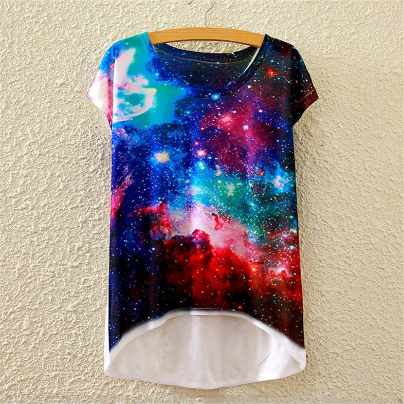 alisister beauty women t shirts 3d print space galaxy t shirt