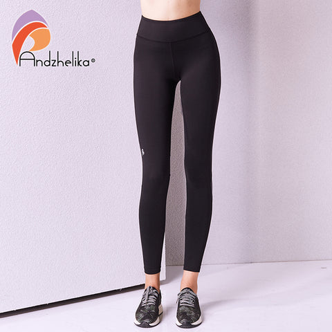 e77c0bdc4 ... Andzhelika Yoga Pants New Sports Sexy Stretched Gym Clothes Hips Push  Up Running Tights Women Leggings ...