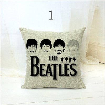 Beatles Dancer Nordic Fashion Throw Pillow Case Home Decor Cojines Sim Honeybee Line