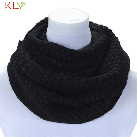 Best Price Women Winter Warm Infinity 2 Circle Cable Knit Cowl Neck
