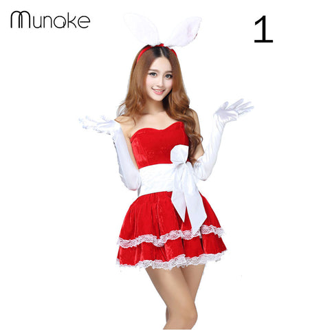 Christmas Women Dress Santa Claus Xmas Dress Christmas Decoration Supp U2013  Honeybee Line