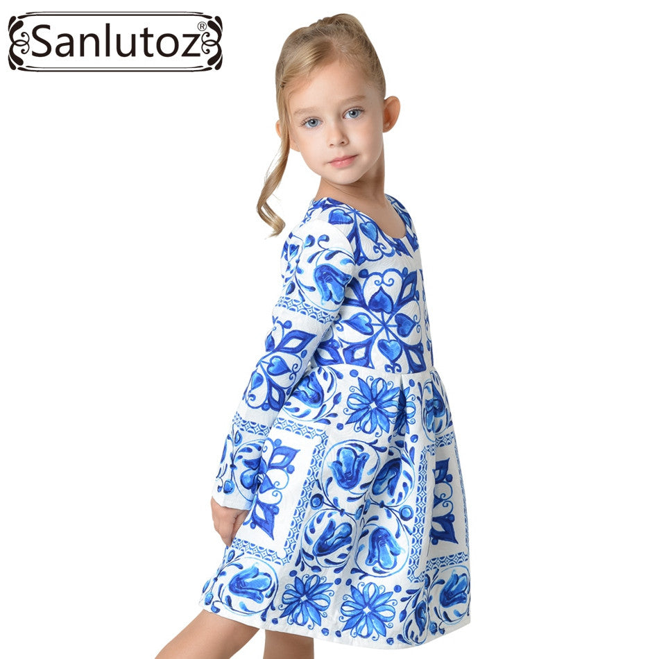 Flower Girl Dress Winter 2016 Toddler Children Clothing ...