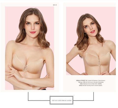 545277d5e0f Fly Bra Invisible Bra 12 Cup Push Up Women Fly Bra Strapless