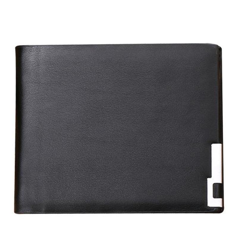GUBINTU Fabulous Men Stylish Business Leather Wallet Card Holder ...