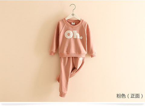 8a7ec79a8f74 Girls autumn clothes OH. Children Clothing sets baby pullover spring ...
