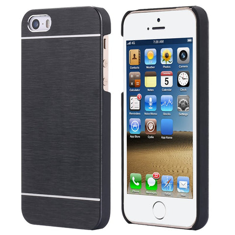 best sneakers 5589a d1ded KISSCASE Aluminum Metal Brush Case For iPhone 4 4S 5 5s Mobile Phone Back  Cover Hybrid Protective Back Cover For iPhone 7 case