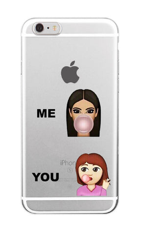 online store cd5b1 3d278 Kimoji Kim Kardashian kanye west north kylie jenner Soft TPU Phone Case  Cover Coque For iPhone 7Plus 7 6 6S 5 5S SE 5C 4 4S 11