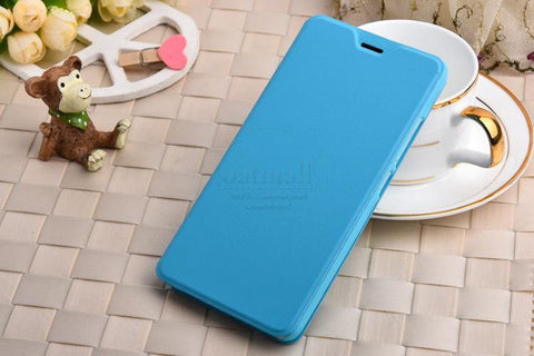 hot sale online 835c4 d1716 Luxury PU Leather Smart Flip Cover For Xiaomi Redmi Note 3 Pro Case With  Stand Original MI Xaomi Redmi Note 4 3 Pro Fundas Bags