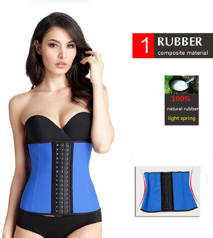 6ccde24db ... NINGMI Rubber Body shaper for women sexy lady Shapewear Waist Trainer  Cincher loseweight Shaper Burning Slim ...