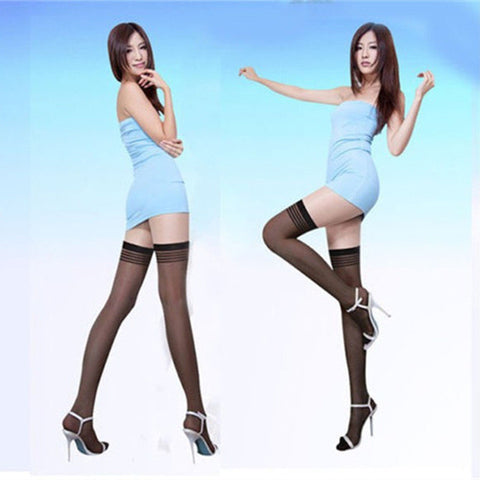 dd52f6af076af New Brand Sexy Women Sheer Lace Compression Thigh High Stockings Summe –  Honeybee Line