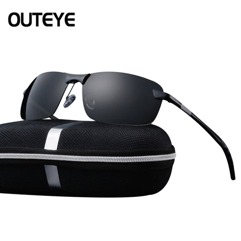 80aac47437f ... OUTEYE Men s Glasses Car Drivers Night Vision Goggles Anti-Glare  Polarizer Sun glasses Polarized Driving ...