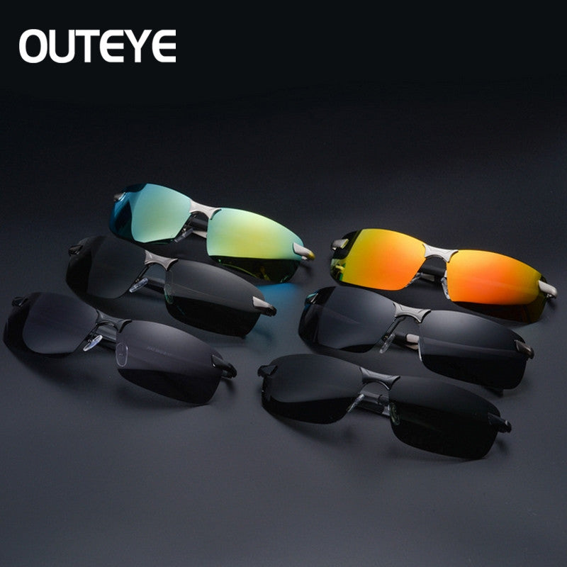 Men Polarized Glasses Car Driver Night Vision Goggles Anti-glare Polarizer