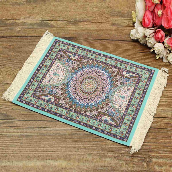Persian Rug Mouse Pad Custom Bohemian Style Mouse Mat High Definition Printing Computer Game Mouse Home Decorative Xmas Gift