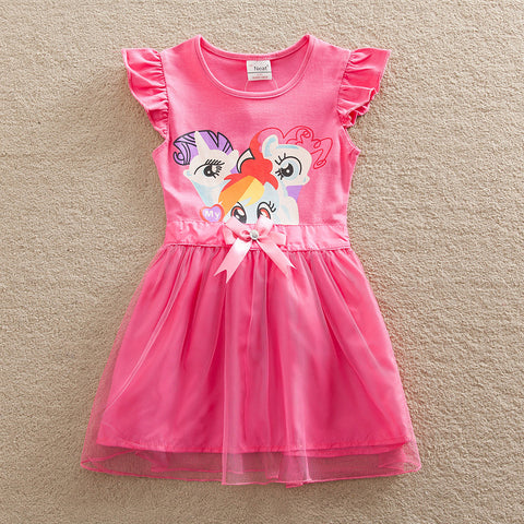 retail costume baby girl dress my little pony christmas lace child