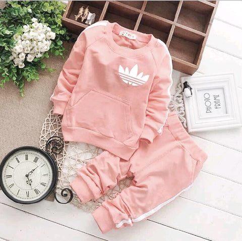 3485df672 ... SHYH Fashion Brand Baby Girls Boys Clothes Spring Autumn Baby Tracksuit  Warm Tops Pants 2Pcs/ ...