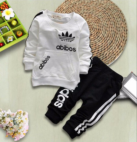 f42a6b7ac ... SHYH Fashion Brand Baby Girls Boys Clothes Spring Autumn Baby Tracksuit  Warm Tops Pants 2Pcs/