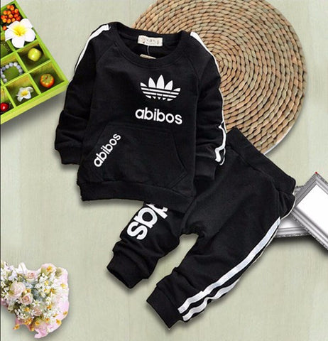 67bb61392 SHYH Fashion Brand Baby Girls Boys Clothes Spring Autumn Baby Tracksuit  Warm Tops Pants 2Pcs/ ...