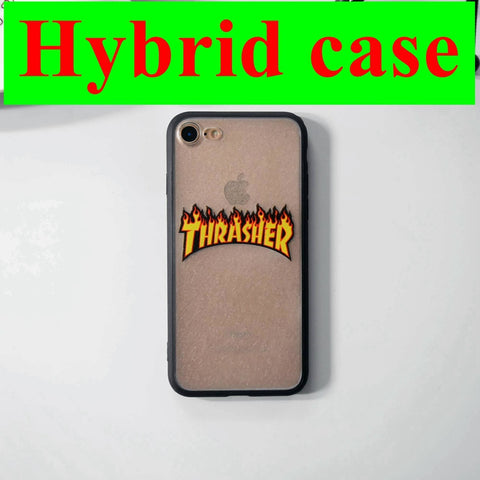 sports shoes 85487 1ad0b Thrasher Brand Logo Case for iPhone 6s Phone Case Fashion Design Cover for  iPhone 6s 6 7 Plus 5 5s SE Coque Fundas Capas Carcasa