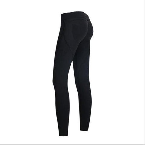 2f75f2ee7941aa Women Yoga Pants Sports Exercise Tights Sexy Hips Push Up Fitness Running  Jogging Trousers Gym Slim