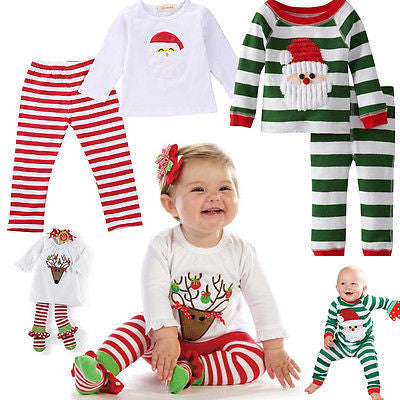 7732a5f6ce1f baby christmas pajamas for the holidays baby girl christmas outfits ...