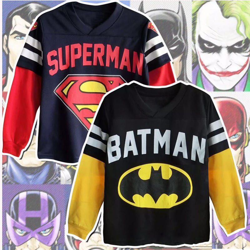 Boys Cartoon Sweatshirt Hoodies Top