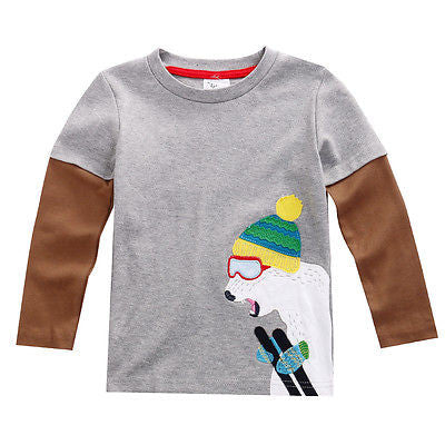 Kids long sleeve T Shirts