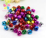 10mm/15mm randomly mix color Jingle bell for Christmas decoration  12pcs/48pcs D18021004