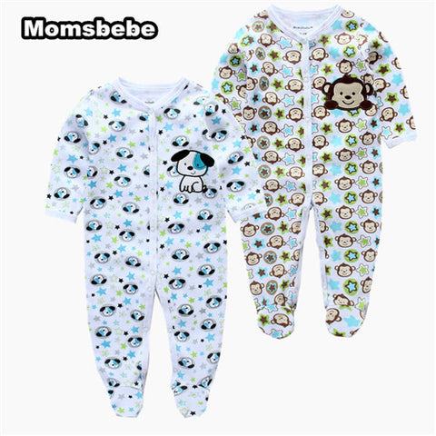 8ce3eb729dd04 ... Baby Romper, Cut Cartoon Animal Newborn 2Pcs/pack Baby Clothes Jumpsuit Infant  Baby Girl ...