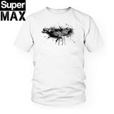 Men t shirt casual short sleeve 100% COTTON