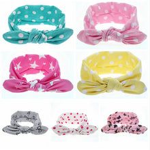 Baby Girl Dot Knot Headband Newborn