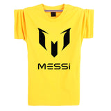 Barcelona MESSI Soccer Men t-shirt - Honeybee Line