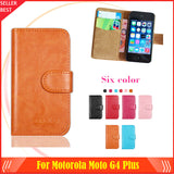 Hot!! In Stock For Motorola Moto G4 Plus Case 6 Colors Luxury Leather Exclusive For Motorola Moto G4 Plus Phone Cover+Tracking
