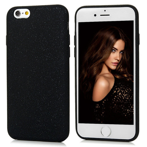 "Ultra Thin Silicone Bling Case For iPhone 6 6S 4.7"" Luxury Glitter Soft TPU Matte Protective Back Cover For iPhone6 6S Plus 5.5"""