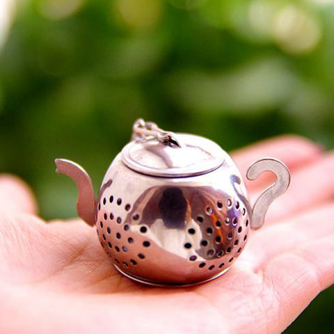 Home Appliance Parts Home Appliances Good Quality Stainless Steel Loose Teapot Tea Leaf Infuser Tray Spice Strainer Herbal Filter