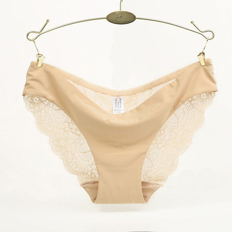 b25b7ab8f57b Hot sale! l women's sexy lace panties seamless cotton breathable panty –  Honeybee Line