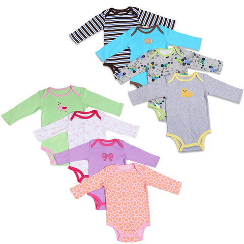 Long-sleeve Infant Baby Bodysuits