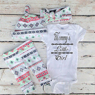 3pcs Newborn Infant Baby Girls Clothes Set Bodysuits Top Pants Hat Legging Xmas Clothing Baby Girl Outfits Set