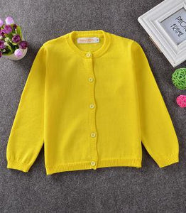 Knitted Winter Cardigan for Boy