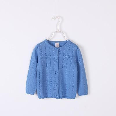Children Cotton Sweater With Bow