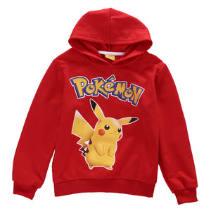 Long Sleeve Hoodies Sweatshirts Pull-over Coat for Girls
